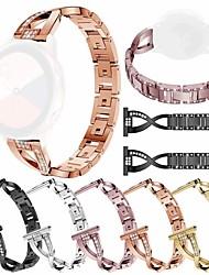 cheap -Watch Band for Samsung Galaxy Watch Active / Samsung Galaxy Watch Active 2 Samsung Galaxy Jewelry Design Stainless Steel Wrist Strap