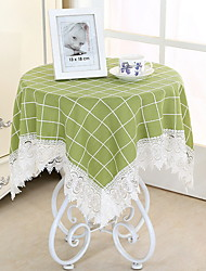 cheap -Classic polyester fibre Round Table Cloth Geometric Table Decorations 1 pcs