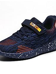 abordables -Garçon Confort Maille Chaussures d'Athlétisme Grands enfants (7 ans et +) Noir / Blanche / Bleu de minuit Hiver