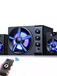 cheap -Bluetooth Speakers Built-in Colorful LED 2.1 3 Channel Subwoofer Speaker USB Power Computer MP3 Cellphone Speakers