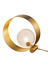 Недорогие -Настольная лампа Декоративная Современный современный Назначение Спальня 220 Вольт Золотой