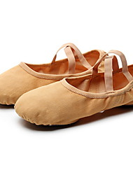cheap -Women's Ballet Shoes Flat Flat Heel Camel Black Pink