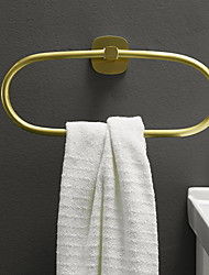 cheap -Towel Bar New Design / Cool Modern Aluminum 1pc towel ring Wall Mounted