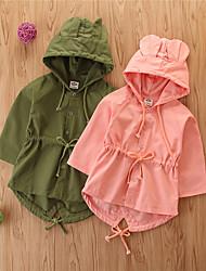 cheap -Baby Girls' Basic Solid Colored Regular Suit & Blazer Blushing Pink