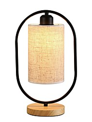 cheap -Table Lamp Decorative Modern Contemporary For Bedroom 220V White / Black