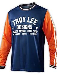 cheap -Speed down long sleeve cycling Top Men's three pants Motorcycle Jersey mountain bike quick dry T-shirt