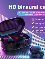 cheap -L22 Tws Wireless Earbuds Sports Mini Digital Display Earphones Bluetooth Earphones