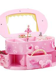 cheap -Music Box Ballerina Music Box Musical Jewellery Box Music Box Dancer Holiday Retro Creative Unique Resin Women's All Girls' Kid's Adults Child's 1 pcs Graduation Gifts Toy Gift
