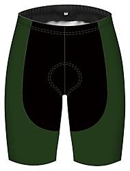 cheap -21Grams Men's Cycling Shorts Bike Pants / Trousers Padded Shorts / Chamois Bottoms Breathable 3D Pad Quick Dry Sports Black / Green Mountain Bike MTB Road Bike Cycling Clothing Apparel Bike Wear