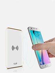 abordables -FIXST 8000 mAh Pour Batterie externe de banque de puissance 5 V Pour 2.1 A / 1 A Pour Chargeur de batterie Chargeur Sans Fil LED