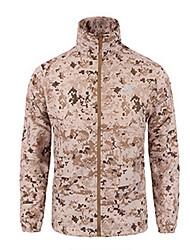 cheap -Men's Daily Regular Jacket, Geometric Hooded Long Sleeve Polyester Black / Yellow / Green
