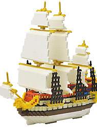 cheap -ENLIGHTEN Building Blocks Educational Toy Construction Set Toys Building Bricks Ship Pirates Pirate Ship Building Toys Unisex Boys' Girls' Toy Gift / Kid's