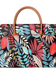 cheap -13.3 Inch Laptop / 14 Inch Laptop / 15.6 Inch Laptop Sleeve / Briefcase Handbags Canvas Leaf / Vintage for Men for Women for Business Office Waterpoof Shock Proof