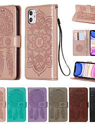 cheap -Apple iPhone11 Pro Max iPhoneX XR XsMax iPhone7 / 8 6 / 6sPlus All Inclusive Protective Case Card Clip Wallet PU Leather