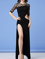 cheap -Belly Dance Dresses Women's Performance Polyester Split Dress