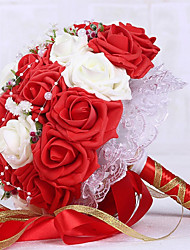 Недорогие -европейские свадебные принадлежности букеты свадебные букеты для невесты свадебный бал цветов свадьба ffoam свадебные букеты 1 палка