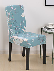 cheap -High Quality Printed Magic Rabbit Spandex Chair Covers For Dining Room Chair Cover For Party Chair Cover For Wedding Living Room Chair Covers