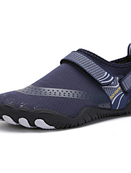 cheap -Men's / Unisex Trainers / Athletic Shoes Classic / Casual Daily Beach Water Shoes / Walking Shoes Canvas / Mesh Breathable Shock Absorbing Wear Proof Black / Yellow / Dark Blue Slogan Summer / Fall