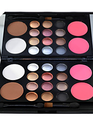 cheap -12 Colors 1 pcs Matte Long Lasting / Concealer / water-resistant Concealer / Blush / Highlighter # Classic / Fashion Kits / Multi Function / Easy to Use Daily Wear / Date / Vacation Quadrate Makeup
