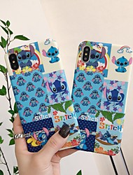 cheap -Case for iPhone 11 Funny Cartoon Design Character Protective Fashion Fun Cool Cover Skin Teens Cases for iPhone 6 / iPhone 7/ iPhone 11 pro