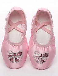 cheap -Women's Ballet Shoes Canvas Flat Flat Heel Dance Shoes Pink / White / Pink