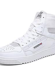 cheap -Men's Comfort Shoes Mesh Fall & Winter Sneakers Black / White / Beige