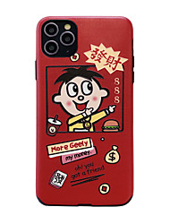 cheap -Silk Phone Case  For Apple iPhone 11 Ultra-thin Back Cover Cartoon Protective TPU Fit for iPhone 7 / iPhone 8