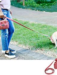 Недорогие -Собаки Животные Лечить сумка Компактность Мини Прочный Однотонный Мода Нейлон Красный Серый