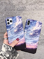 cheap -Case for iPhone 11Fashion Landscape Design Protective Fashion Fun Cool Cover Skin Teens Cases for iPhone 6 / iPhone 7/ iPhone 11 pro