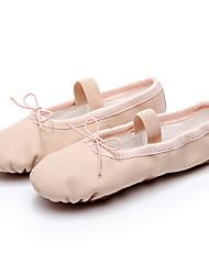 cheap -Women's Ballet Shoes Canvas Flat Flat Heel Dance Shoes Almond / Pink