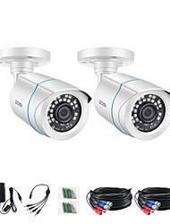 cheap -ZOSI 1080P 3.6mm AHD CVI CVBS TVI CCTV IR-CUT Analog CMOS Outdoor Video Camera Home Security Systems Bullet Waterproof Camera With HD Night Vision