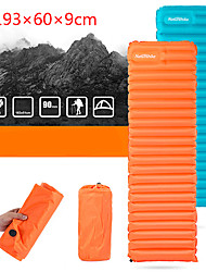 cheap -Naturehike Sleeping Pad Inflatable Sleeping Pad Air Pad Outdoor Camping Ultralight Portable Moistureproof Ultra Light (UL) Nylon 193*60*9 cm for 1 person Camping / Hiking Outdoor Autumn / Fall Spring