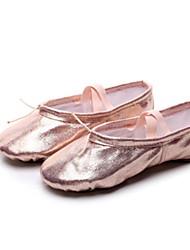 cheap -Women's Ballet Shoes Satin Flat Flat Heel Dance Shoes Pink