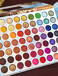 cheap -60 Colors Eyeshadow Matte Eye EyeShadow Cream Kits Easy to Carry Multifunction Comfy lasting smoky Long Lasting Natural water-resistant Daily Makeup Halloween Makeup Party Makeup Cosmetic Gift