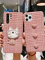 cheap -iPhone X Case iPhone Xs Case Ebetterr Plaid Protective Cover Shell Matte Slim Fit Anti Scratch Shockproof Soft TPU Bumper Flexible Rubber Case for iPhone 6 / iPhone 7/ iPhone 11
