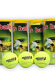 Недорогие -Мячи теннисные 3 предмета Компактность Прочный Синтетическое волокно Назначение Спорт в свободное время на открытом воздухе Теннис