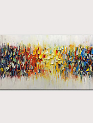 cheap -3D Hand-Painted Abstract Colorful Melody Oil Painting On Canvas Modern Artwork for Home Decor with Stretched Frame Ready to Hang With Stretched Frame