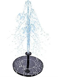 cheap -Mini Solar Powered Fountain Garden Pool Pond Solar Panel Floating Fountain Garden Decoration Water Fountain
