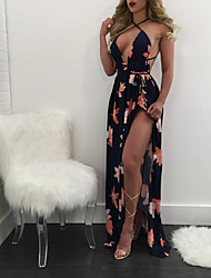 cheap -Women's Elegant Sheath Dress - Geometric Red S M L XL