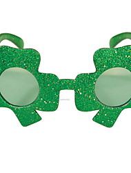 cheap -Kiss Irish Green Velour Party Cosplay ST Patrick's day Pride Costume Clover Glasses