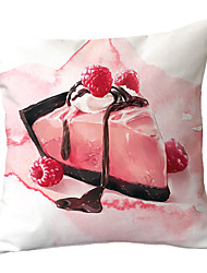Недорогие -1 шт. Полиэстер наволочка нордический ins маленький свежий розовый торт мороженое гостиная диван подушка офис минималистский прикроватная наволочка