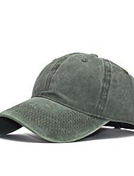 cheap -Men's Unisex Basic Cotton Baseball Cap-Solid Colored Spring Summer Black Wine Orange