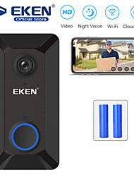 cheap -EKEN V6 Smart WiFi Video Doorbell with 2*18650 Battery