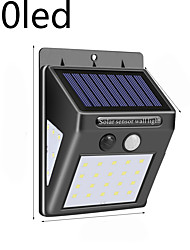 cheap -WAZA 30 LED SOLAR POWER LAMP PIR MOTION SENSOR 1/2/4PCS SOLAR GARDEN LIGHT OUTDOOR WATERPROOF ENERGY SAVING WALL SECURITY LAMP