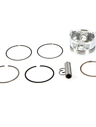 cheap -CG200 Motorcycle Engine 63.5mm Ring Piston 15MM Pin set For Zongshen Motorbike CQR Dirt Bike Accessories