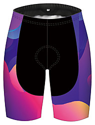 cheap -21Grams Women's Cycling Shorts Bike Pants / Trousers Padded Shorts / Chamois Bottoms 3D Pad Quick Dry Ultraviolet Resistant Sports Gradient Red+Blue Mountain Bike MTB Road Bike Cycling Clothing
