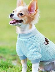cheap -Cat Dog Coat Winter Dog Clothes Brown Purple Blue Costume Polar Fleece Fruit Cosplay Wedding S L