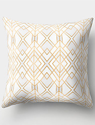 cheap -Set of 1 Polyester Pillow Cover Northern Europe Wind Sand Hair Geometry Holds Pillow Cushion for Leaning on to Cover Sitting Room Ins Wind Bedhead Cushion for Leaning on to Cover Office to Protect Wai