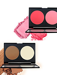 cheap -12 Colors Dry Brightening / Casual / Daily / Convenient Cosmetic China Fashionable Design / Women / Youth Birthday / Event / Party / Engagement Quadrate Makeup Cosmetic