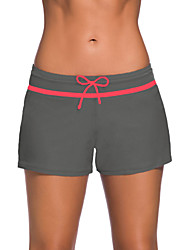cheap -Women's Swim Shorts Swimwear Stretchy Swimming Beach Fashion